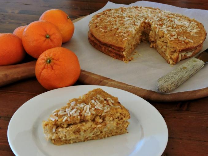 Coconut, Madarin and Ricotta cake 2