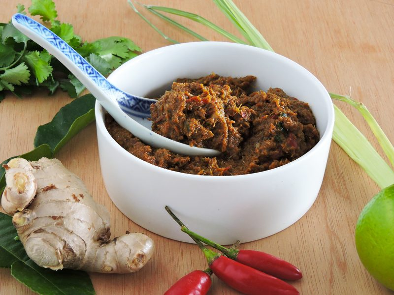 Bree's Red Curry Paste