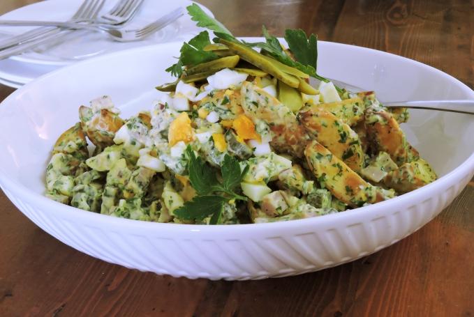 Roasted German Potato Salad 2