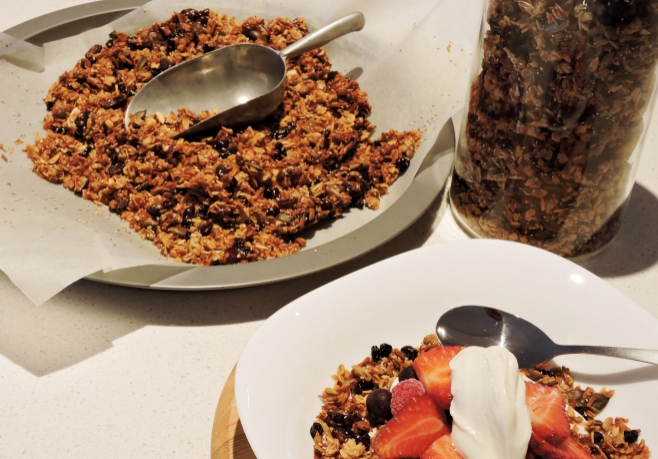 Cranberry & Coconut Granola