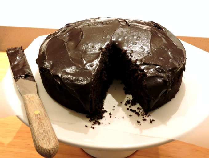 'World's Easiest' Chocolate Cake