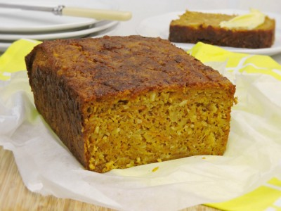 GF Carrot and Pineapple Bread
