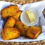 GF Bush Tomato Corn Bread with Hand Churned Native Butter