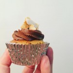 GF Banana, Coconut and Carob Cupcakes