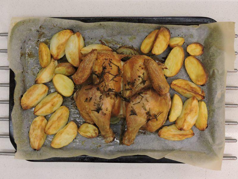 '45 minute' Herb Roasted Chicken
