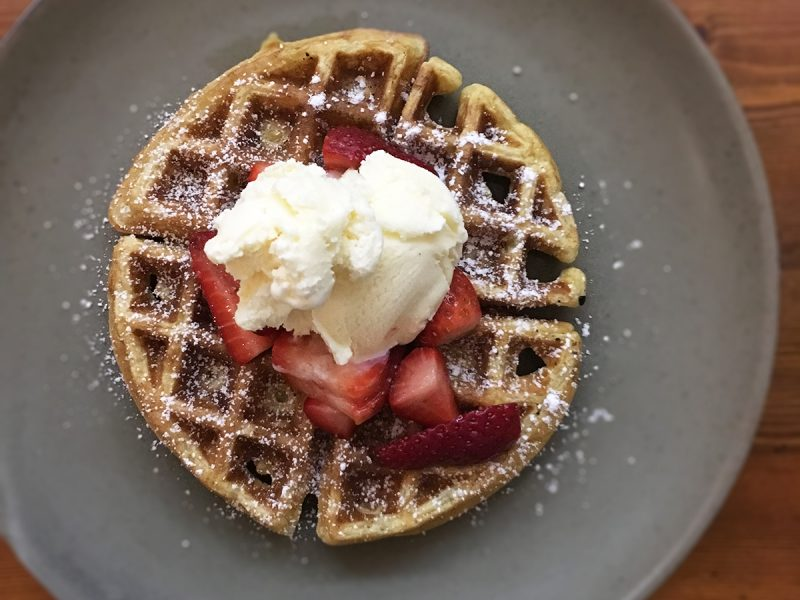 Buttermilk and Brown Sugar Waffles