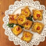 Ham & Tomato Mini-Quiches