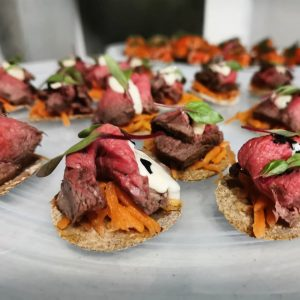 beef canape